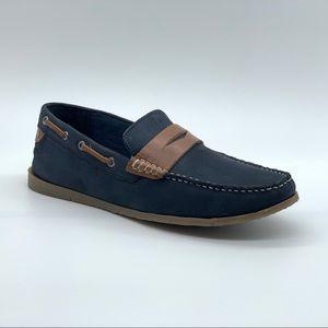 MODERN FICTION Leather Penny Loafer Size 8.5